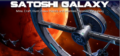 SatoshiGalaxy, a galactic Bitcoin game